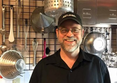 John Moss, Owner and Executive chef