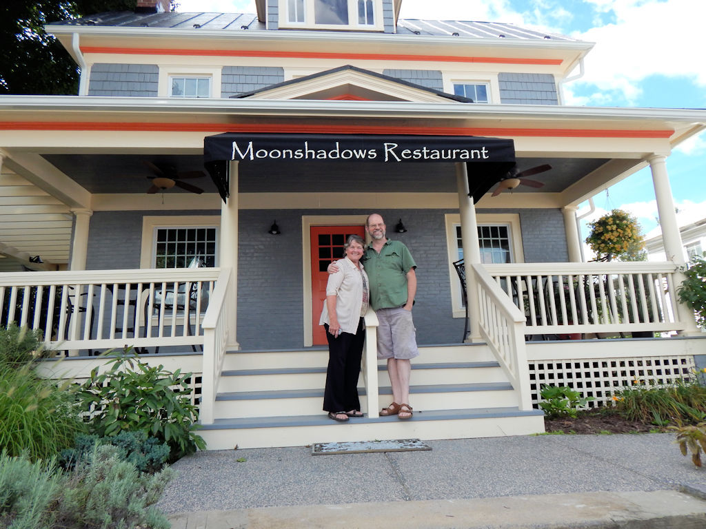 John And Maureen Moss Proprietors Moonshadows Restaurant Luray Va