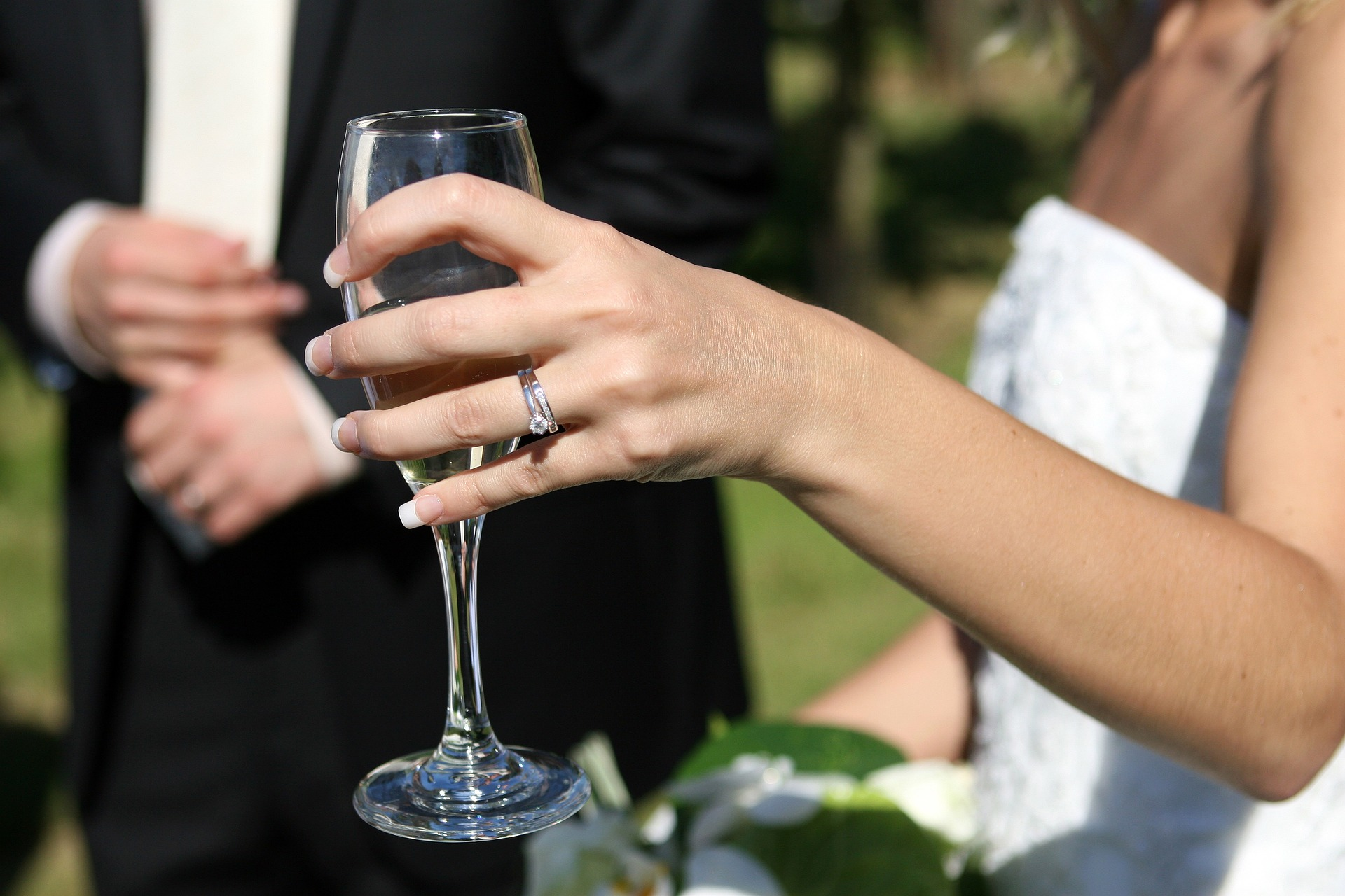 Private Wedding Reception Toast