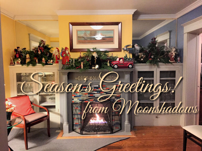 Seasons Greetings From Moonshadows Restaurant Luray Va